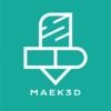 MAEK3D Logo