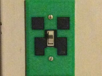 Square Face Switch Plate2016