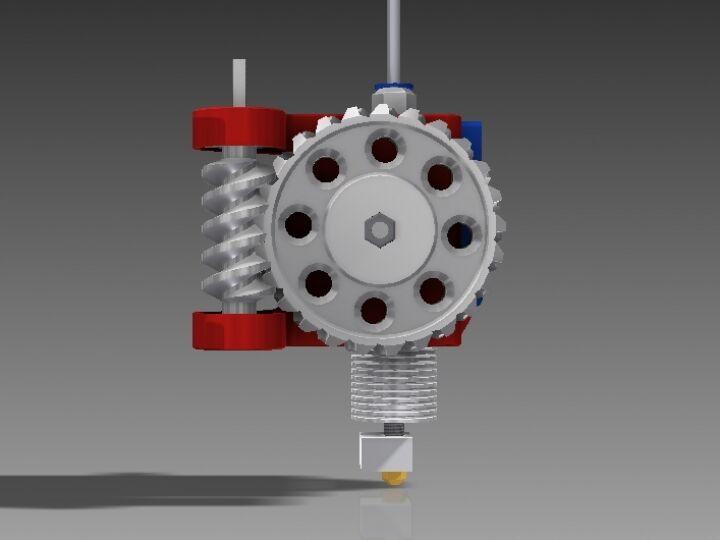 RWE - Remote Wormdrived Extruder