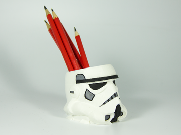 Stormtrooper Pencil Holder