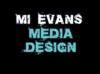 Mi Evans Media Design Logo