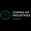 Comma MF, Ind. Logo