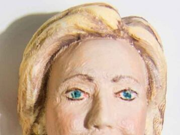 Hillary Clinton Sandwich Prick