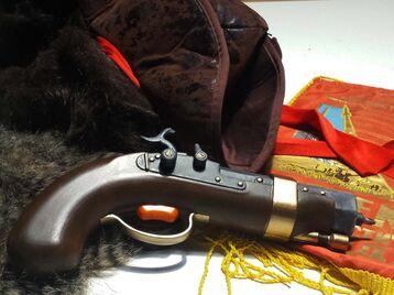 The Swashbuckler's Screw Pistol
