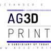 AG3D Printing Logo