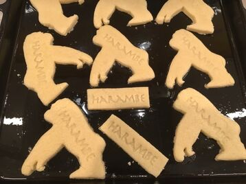 Harambe Cookie Cutter