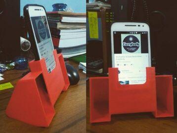 Cell phone soundbox
