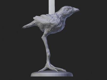 Bird  Candle Stick