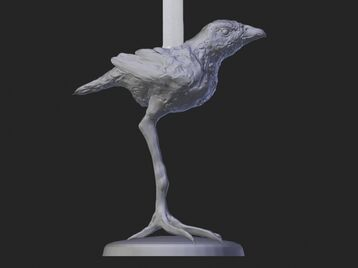 Bird  Candle Stick
