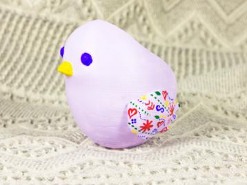 Chick - flower pot