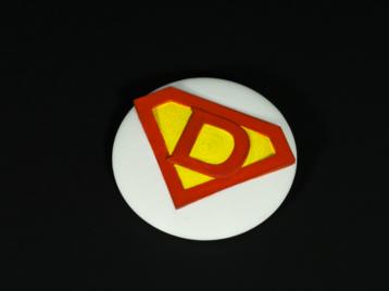 Superdaddy badge
