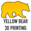 Yellow Bear 3D Printing Logo
