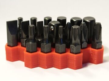 Bit holder for screwdriver