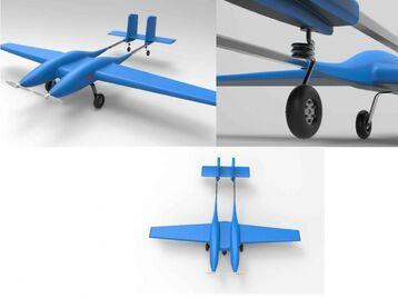 Twin fuselage 1.1