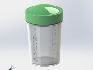 Protein Powder Cup - Small Shaker