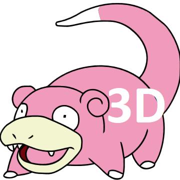 Slowpoke3D