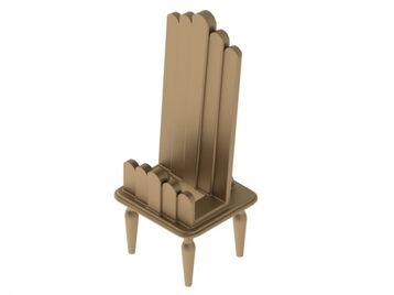 Art Deco Style Cell Phone Holder