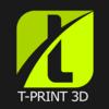 T-Print 3D Logo