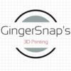 GingerSnap's Printing Logo