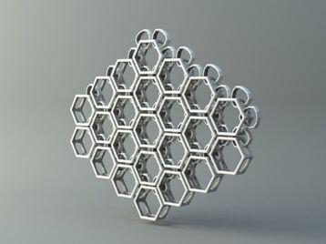 Net from Hexagons