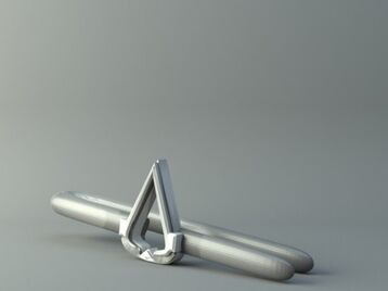 Tie clip - Assassin's Creed