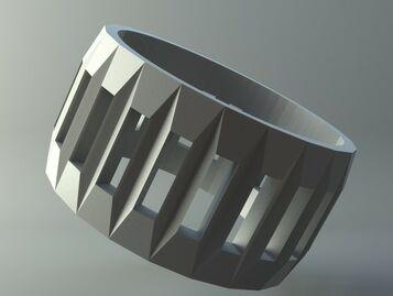 Ring - Latticed