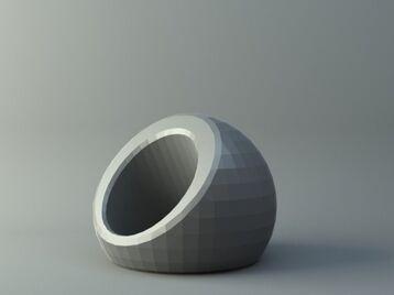 Ring - Sphere shape
