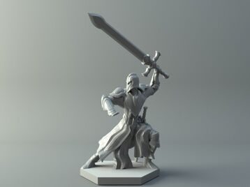 Warrior - D&D miniature