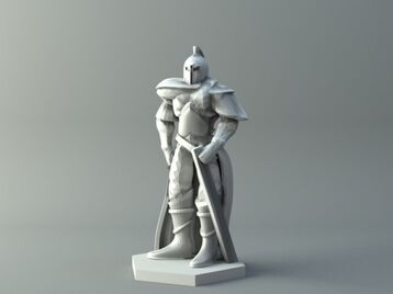 Human warrior 2 - D&D miniature