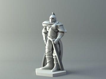 Human warrior 2 - D&D miniature