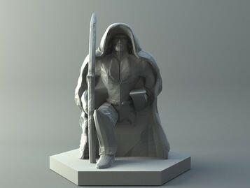 Elf archer - D&D miniature