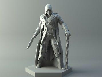 Elf assassin - D&D miniature