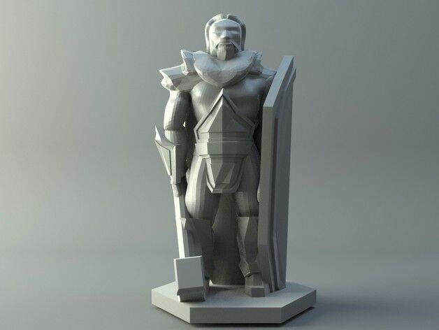 Human priest - D&D miniature