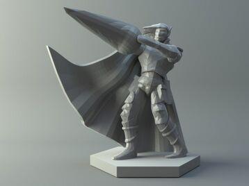 Drow mage - D&D miniature