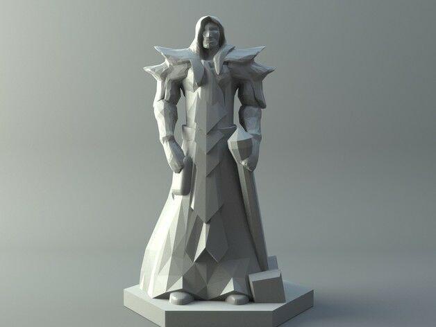 Elf knight - D&D miniature