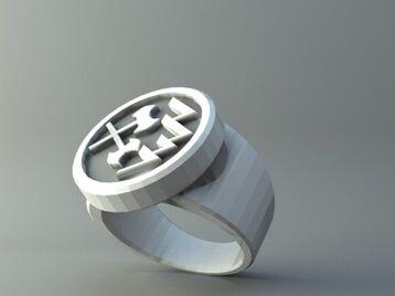 Ring - Round badge 2