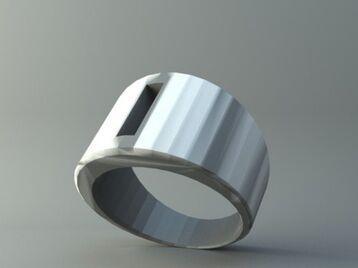 Ring - Rectangle hole