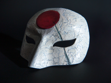 3D Printable Katana Mask from Suicide Squad