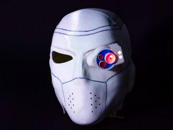 3D Printable Mask of Deadshot