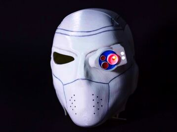 3D Printable Mask of Deadshot