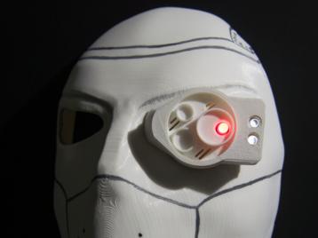 Front part of Deadshot mask